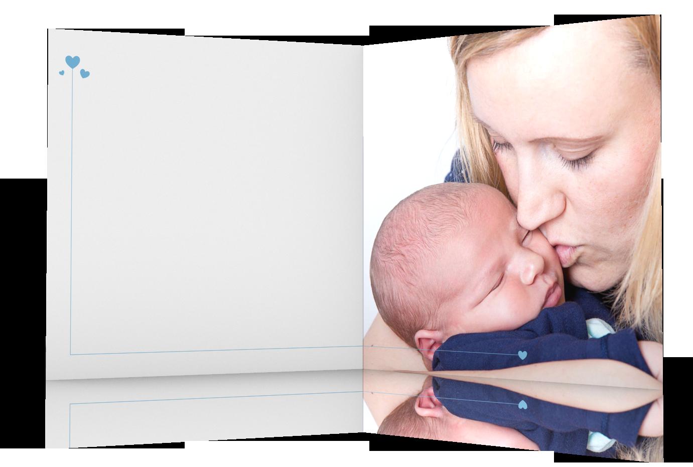 Geburtsgrußkarten Beispiel Innenseiten