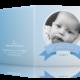 individuelle Geburtsgrußkarten mit Foto